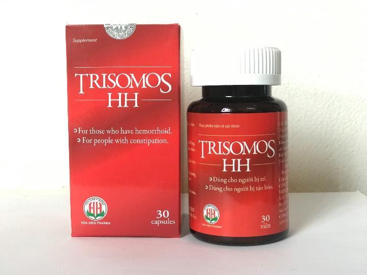 TRISOMOS-HH tác dụng tốt cho bệnh TRĨ như thế nào??
